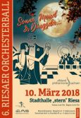 "6. Riesaer Orchesterball - ""Sonne, Mond & Dingsda..."""